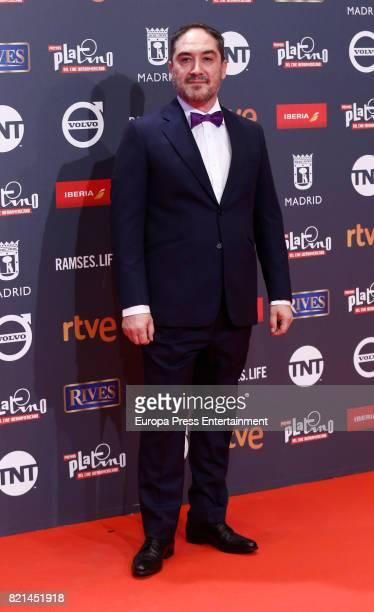 Alfonso Lara attends Platino Awards 2017 at La Caja Magica on July 22 2017 in Madrid Spain