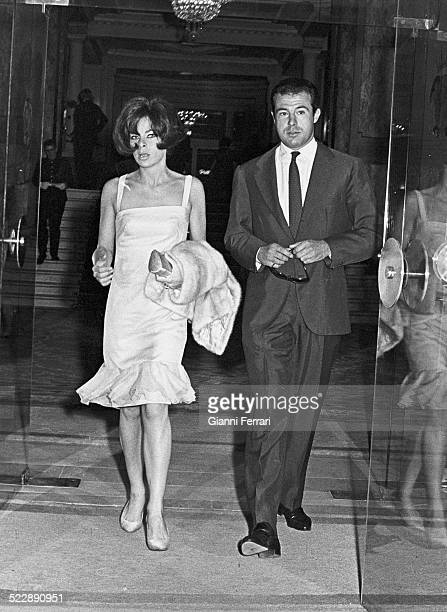 Alfonso of Borbon and the Italian Princess Beatrice of Savoy Madrid Spain