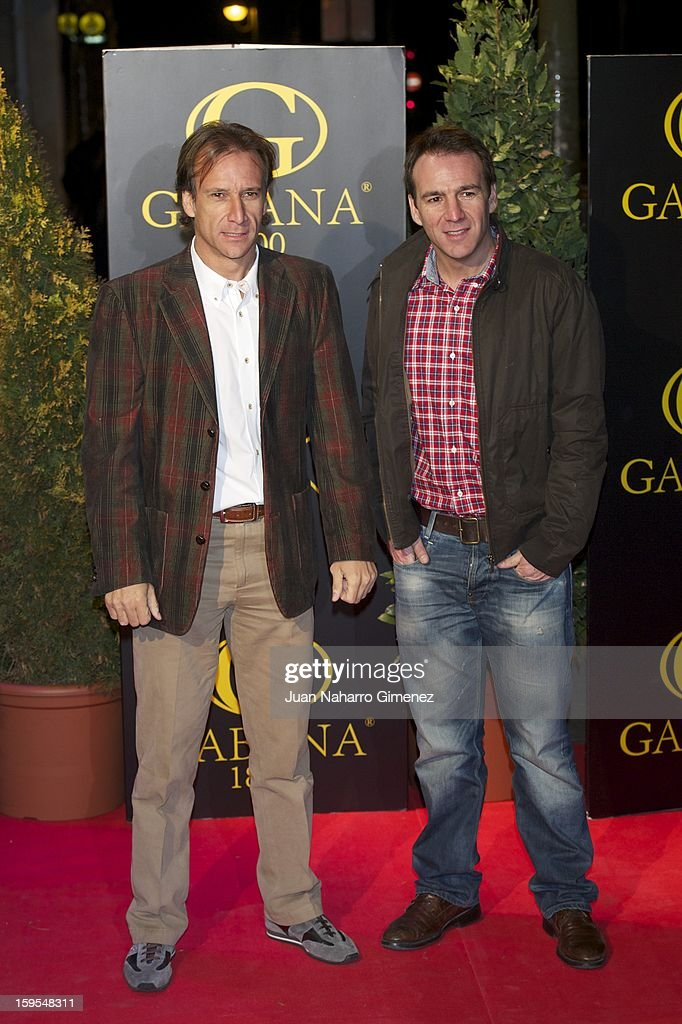 Alfonso Perez attends David Bustamante's dinner with friends at Gabana 1800 on January 15, 2013 in Madrid, Spain.