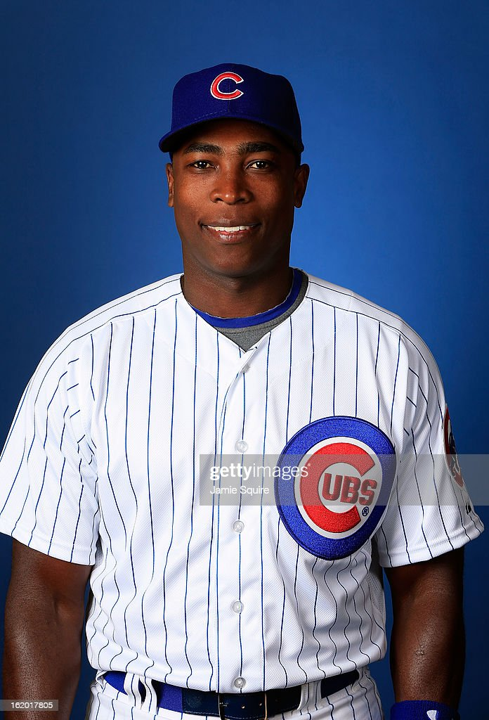 <a gi-track='captionPersonalityLinkClicked' href=/galleries/search?phrase=Alfonso+Soriano&family=editorial&specificpeople=202251 ng-click='$event.stopPropagation()'>Alfonso Soriano</a> #12 poses during Chicago Cubs photo day on February 18, 2013 at HoHoKam Park in Mesa, Arizona.