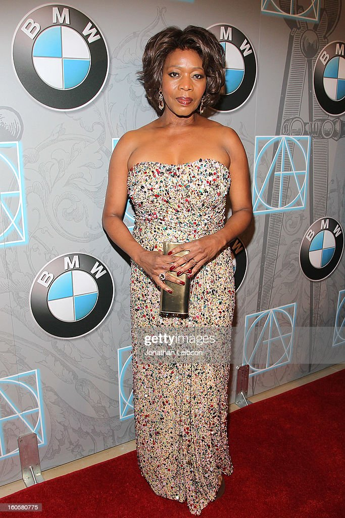 <a gi-track='captionPersonalityLinkClicked' href=/galleries/search?phrase=Alfre+Woodard&family=editorial&specificpeople=220969 ng-click='$event.stopPropagation()'>Alfre Woodard</a> arrives to the 17th Annual Art Directors Guild Awards For Excellence In Production Design presented by BMW at The Beverly Hilton Hotel on February 2, 2013 in Beverly Hills, California.