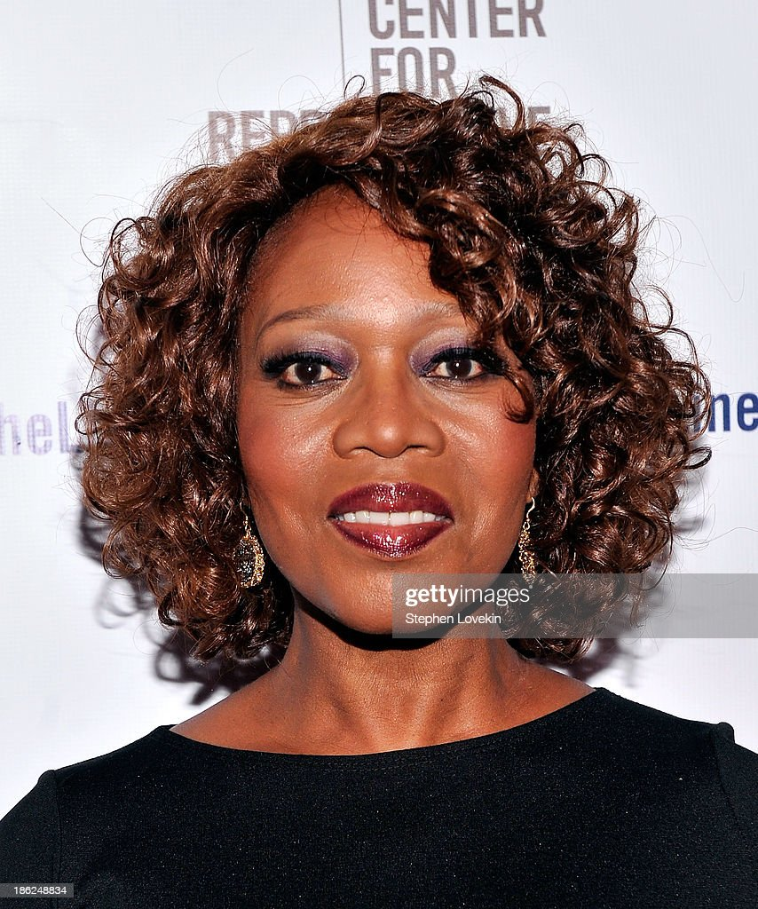 <a gi-track='captionPersonalityLinkClicked' href=/galleries/search?phrase=Alfre+Woodard&family=editorial&specificpeople=220969 ng-click='$event.stopPropagation()'>Alfre Woodard</a> attends the Center for Reproductive Rights 2013 Gala at Jazz at Lincoln Center on October 29, 2013 in New York City.