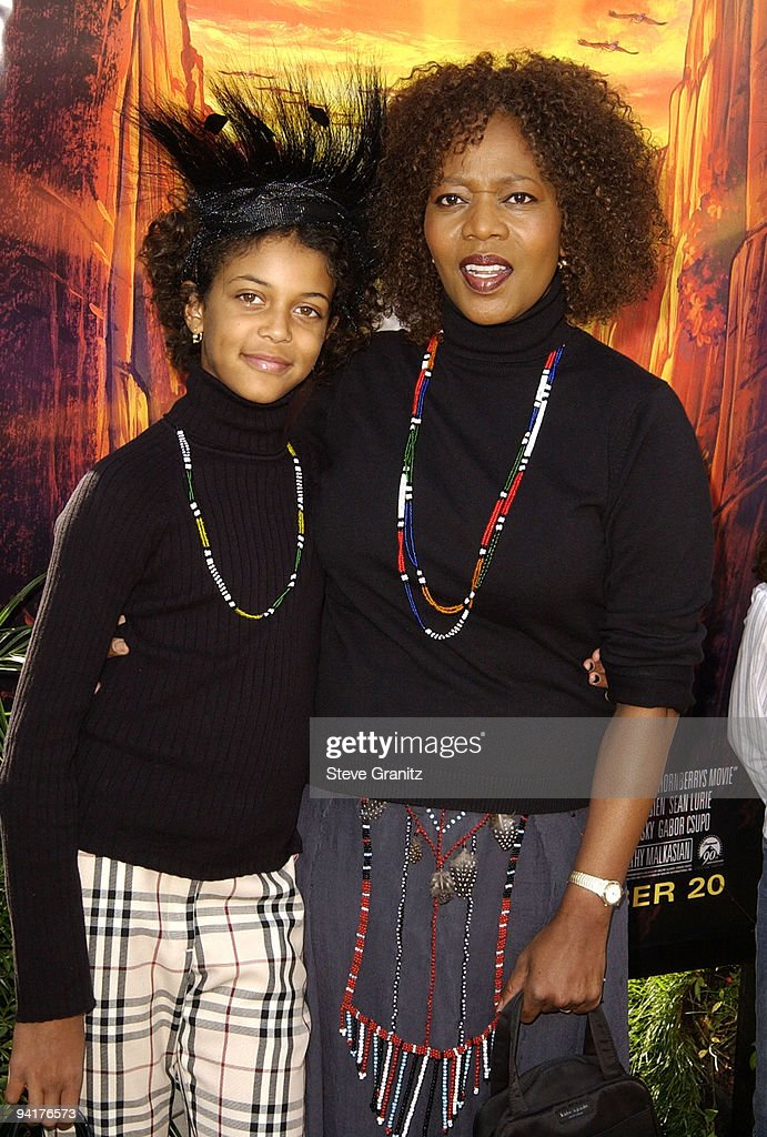Alfre Woodard & daughter Mavis Spencer