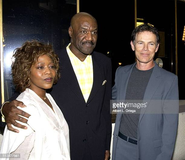 Alfre Woodard Delroy Lindo Bruce Greenwood during 'The Core' Premiere at Mann'a National Theater in Westwood California United States