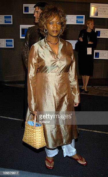 Alfre Woodard during 2003 Tribeca Film Festival 'Down With Love' After Party at The Winter Garden in the World Financial Center in New York City New...
