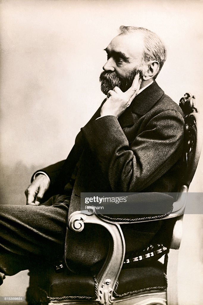 Alfred Bernhard Nobel (1833-1896). Swedish chemist and industrialist, inventor of dynamite and the founder of the Nobel Prize.