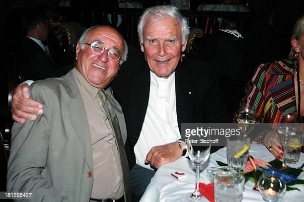 Alfred Biolek Joachim 'Blacky' Fuchsberger BenefizGeburtstagsparty 70 Geburtstag von U d o J ü r g e n s 2992004 Berlin Nachtclub 'Adagio'
