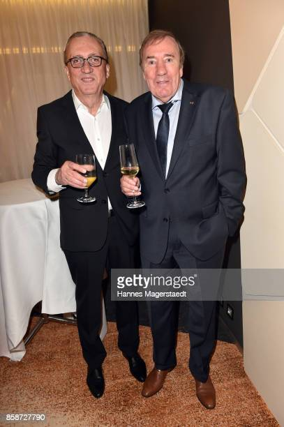 Alfred Draxler and Frank Fleschenberg during the Felix Friends Charity Gala at Hotel Vier Jahreszeiten on October 7 2017 in Munich Germany