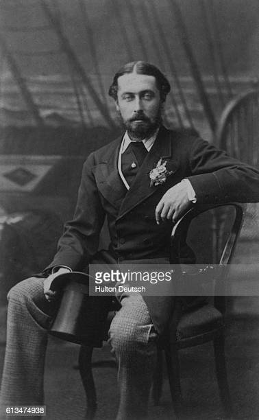 Alfred Duke of Edinburgh and Duke of SaxeCoburgGotha the second son of Queen Victoria