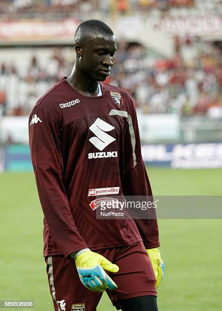 Alfred Gomis before the Tim Cup 20162017 match between Torino FC and FC Pro Vercelli at the Olympic Stadium of Turin on august 013 2016 in Torino...