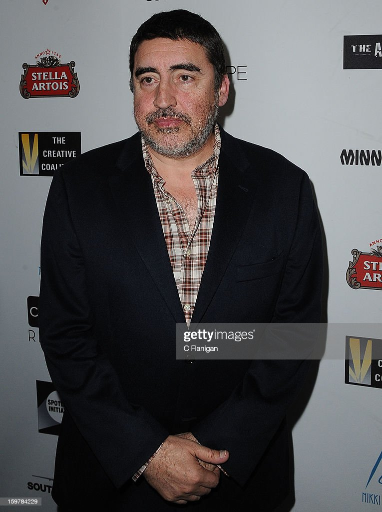 <a gi-track='captionPersonalityLinkClicked' href=/galleries/search?phrase=Alfred+Molina&family=editorial&specificpeople=211218 ng-click='$event.stopPropagation()'>Alfred Molina</a> arrives at The Creative Coalition Spotlight Initiavtive Awards Gala during the 2013 Sundance Film Festival at The Sky Lodge on January 19, 2013 in Park City, Utah.