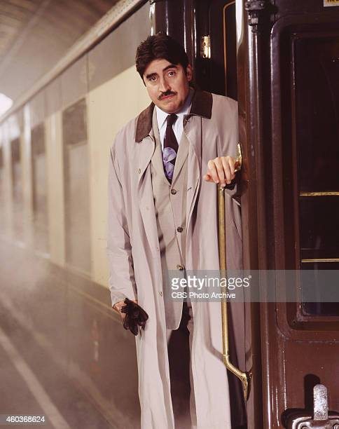 Alfred Molina as Hercule Poirot in the madeforTVmovie Agatha Christies Murder on the Orient Express originally broadcast on April 22 2001