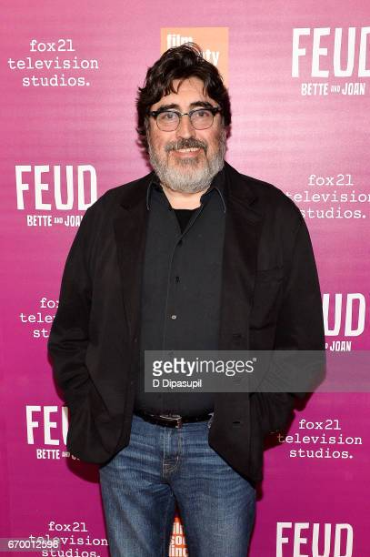 Alfred Molina attends the 'Feud Bette and Joan' NYC Event at Alice Tully Hall at Lincoln Center on April 18 2017 in New York City