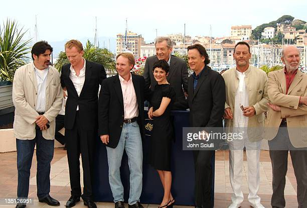 Alfred Molina Paul Bettany Dan Brown Sir Ian McKellen Audrey Tautou Tom Hanks Jean Reno and JeanPierre Marielle