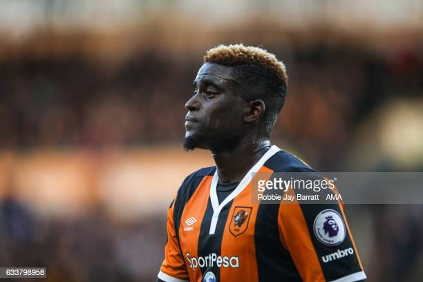 Alfred NDiaye of Hull City during the Premier League match between Hull City and Liverpool at KCOM Stadium on February 4 2017 in Hull England