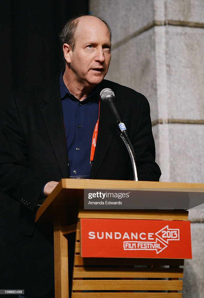 Alfred P. Sloan Foundation's Doron Weber attends the Once Upon A Quantum Symmetry: Science In Cinema Panel at Egyptian Theatre during the 2013 Sundance Film Festival on January 22, 2013 in Park City, Utah.