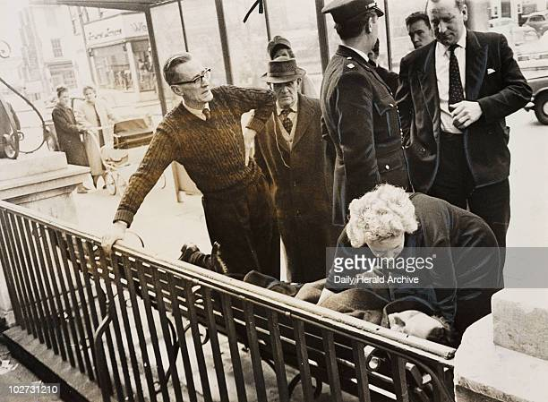 Alfred Pilgrim being given the kiss of life after acquittal 16 April 1964 Alfred Pilgrim a 52yearold florist of East Molesey Surrey had been accused...