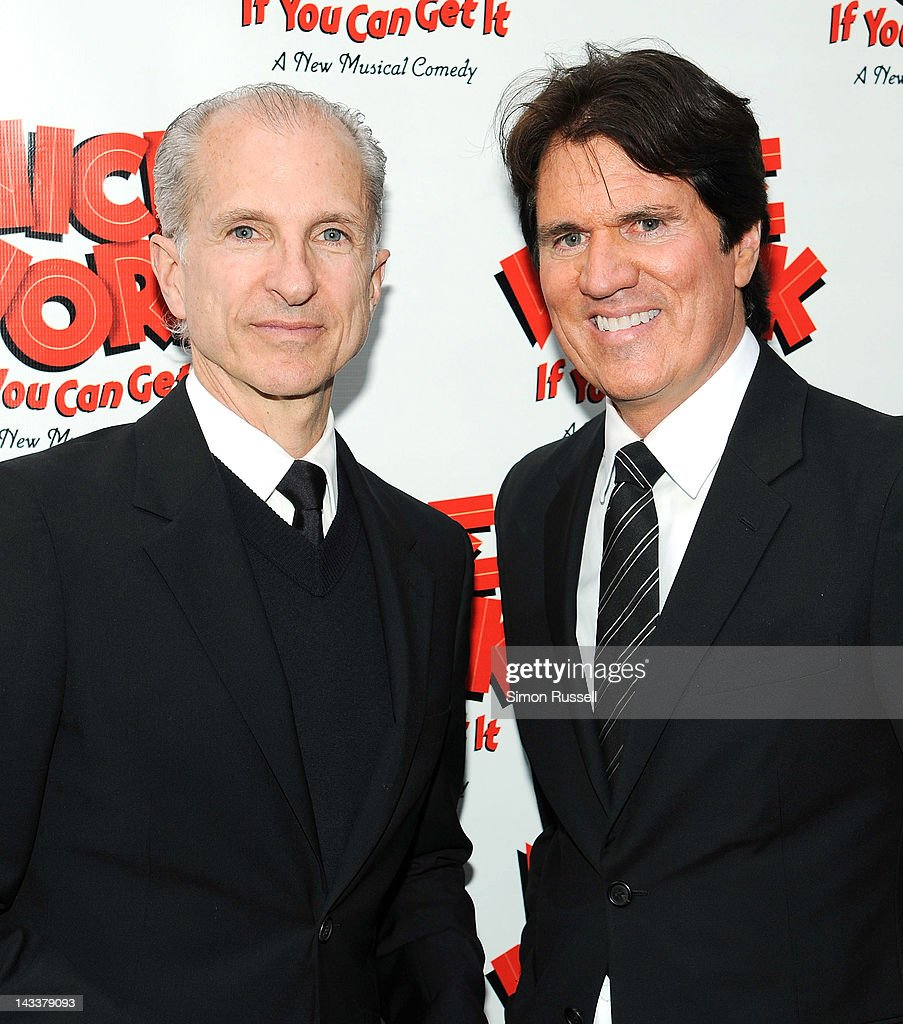 Alfred Uhry and Rob Marshall attend the 'Nice Work If You Can Get It' Broadway opening night at the Imperial Theatre on April 24, 2012 in New York City.