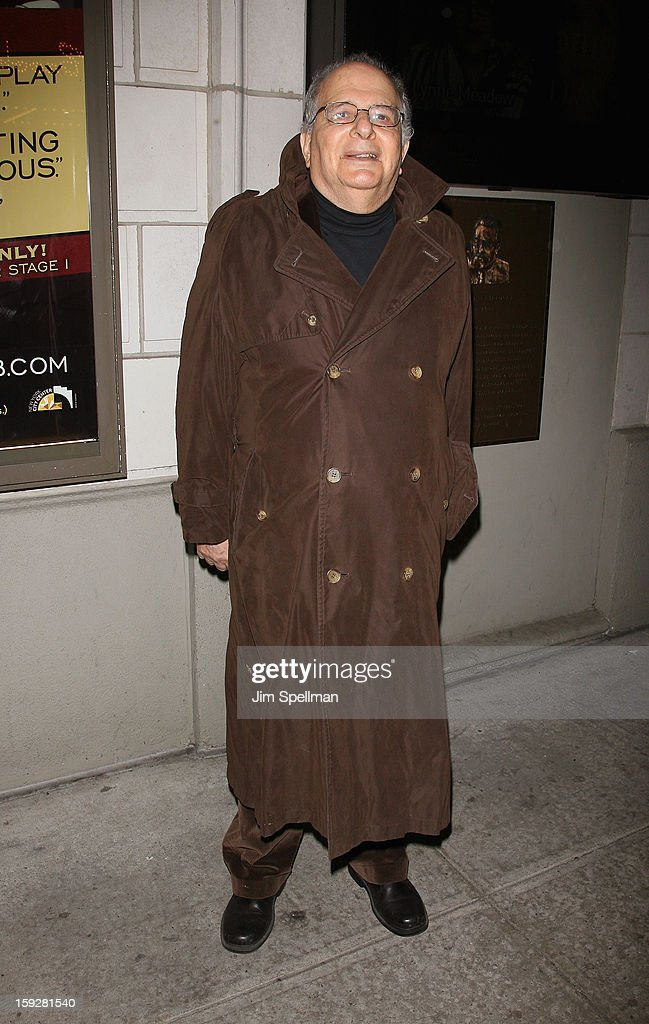 Alfred Uhry attends 'The Other Place' Broadway opening night at the Samuel J. Friedman Theatre on January 10, 2013 in New York City.