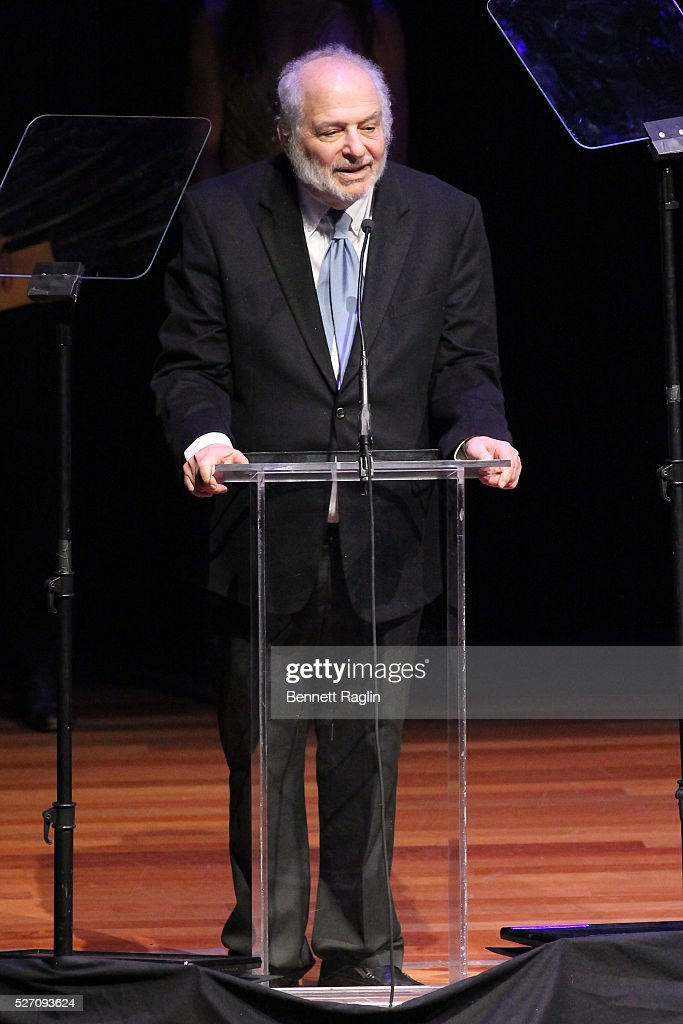 Alfred Uhry speaks on stage at the 31st Annual Lucille Lortel Awards at NYU Skirball Center on May 1, 2016 in New York City.