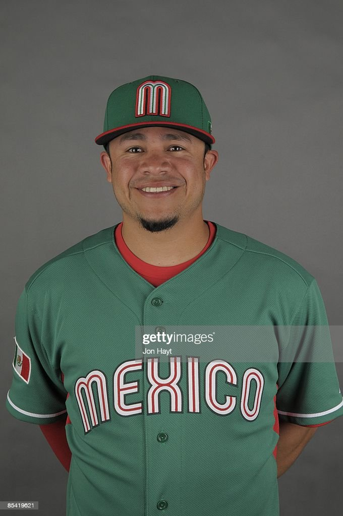 Alfredo Amezaga of team Mexico poses during a 2009 World Baseball Classic Photo Day on Monday, March 2, 2009 in Tucson, Arizona.