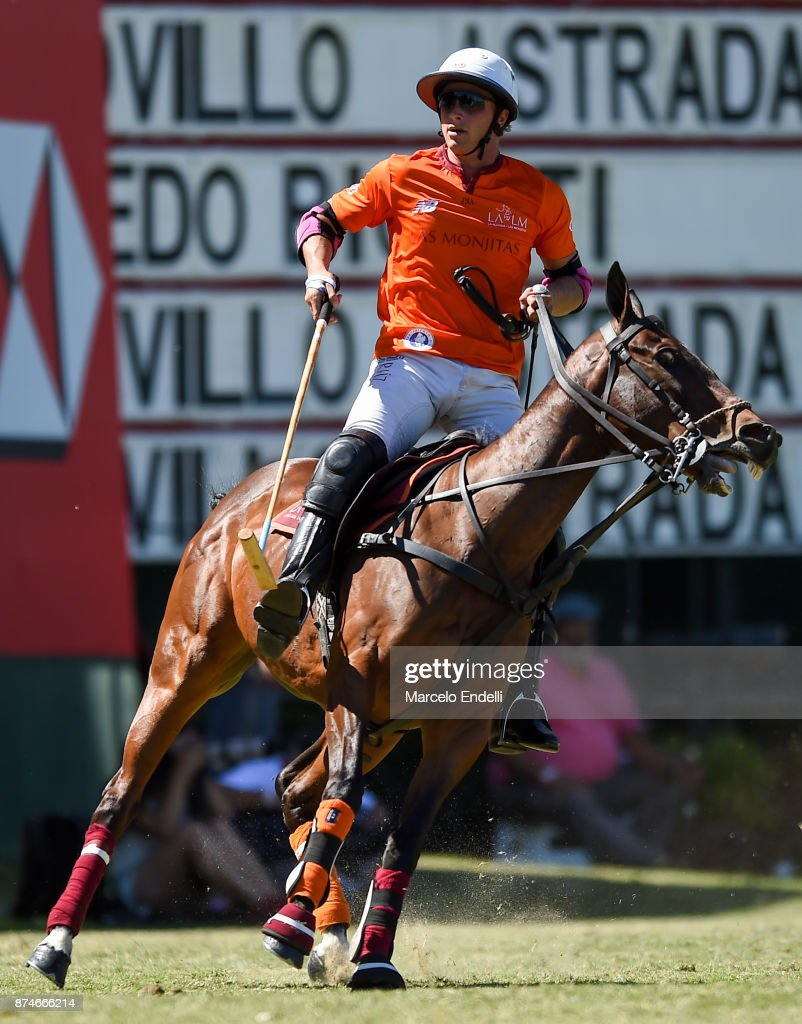 Alfredo Bigatti of La Aguada looks on during a match between La Aguada L. M. v La Esquina L. M. as part of the HSBC 124° Argentina Polo Open at Campo Argentino de Polo on November 14, 2017 in Buenos Aires, Argentina.