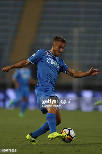 Alfredo Donnarumma of Empoli Fc in action during the TIM Cup match between Empoli FC and Renate at Stadio Carlo Castellani on August 5 2017 in Empoli...