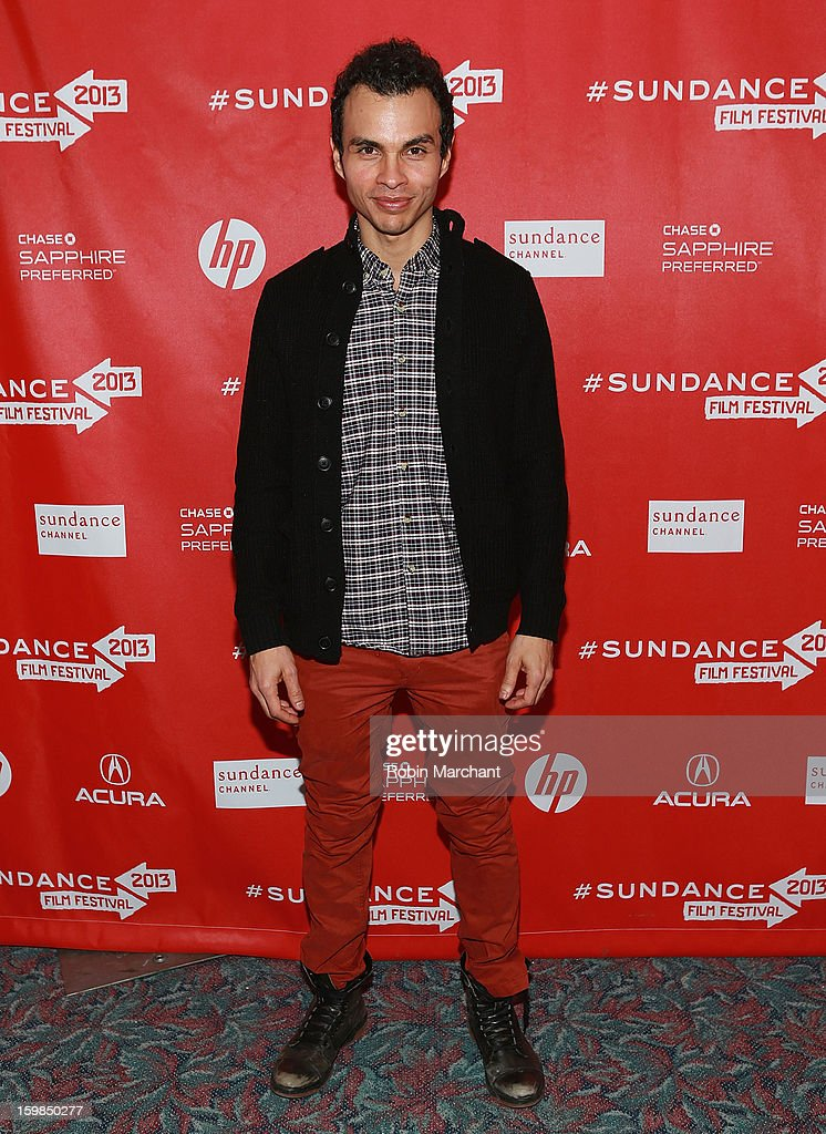 Alfredo Maduro attends 'Pit Stop' Premiere at Prospector Square on January 21, 2013 in Park City, Utah.