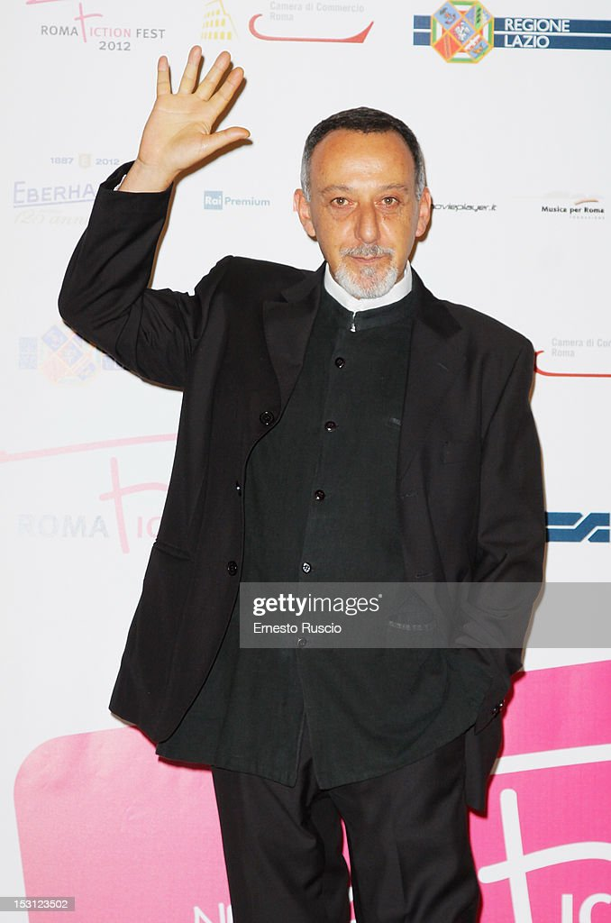 Alfredo Pea attends the ' RomaFictionFest 2012 - Opening Ceremony' at Auditorium Parco Della Musica on September 30, 2012 in Rome, Italy.