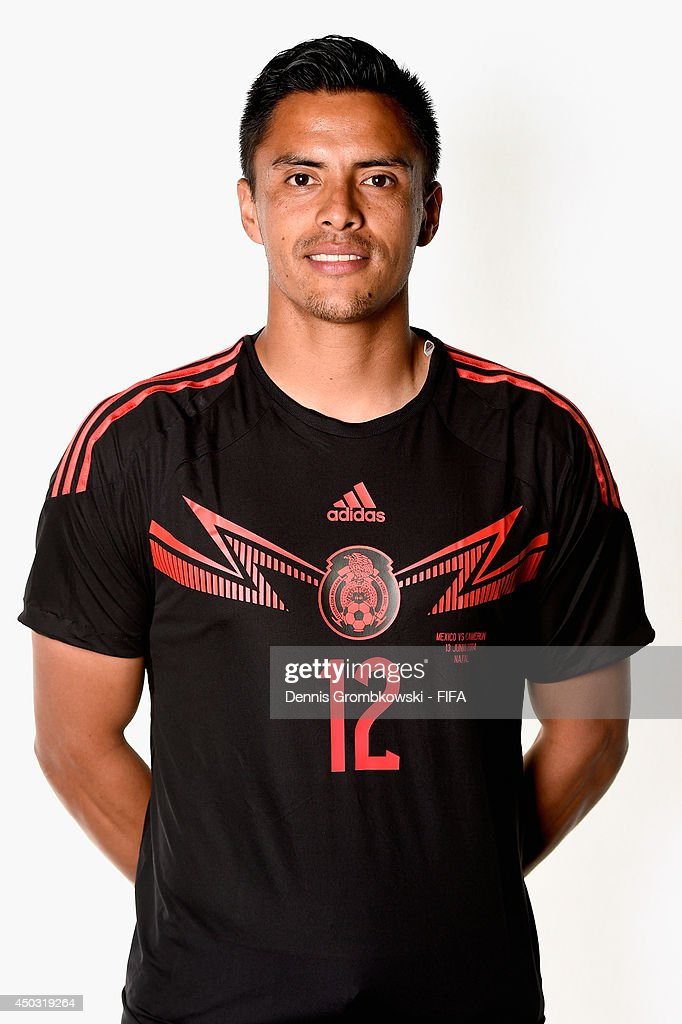 <a gi-track='captionPersonalityLinkClicked' href=/galleries/search?phrase=Alfredo+Talavera&family=editorial&specificpeople=697019 ng-click='$event.stopPropagation()'>Alfredo Talavera</a> of Mexico poses during the Official FIFA World Cup 2014 portrait session on June 8, 2014 in Santos, Brazil.
