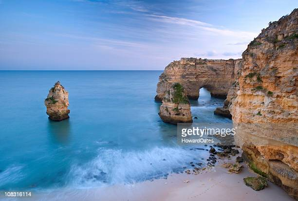 Algarve beach and cliffs