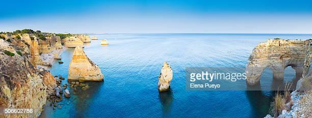 Algarve beach panorama, Portugal