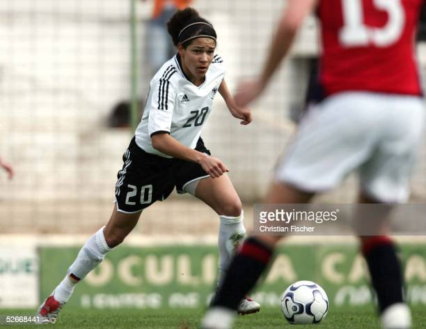Algarve Cup 2005 Silves 110305 Deutschland Norwegen Celia OKOYINO DA MBABI/GER
