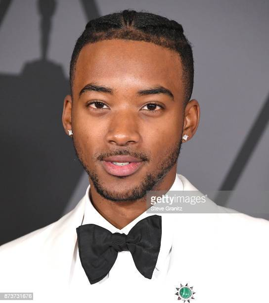 Algee Smith arrives at the Academy Of Motion Picture Arts And Sciences' 9th Annual Governors Awards at The Ray Dolby Ballroom at Hollywood Highland...