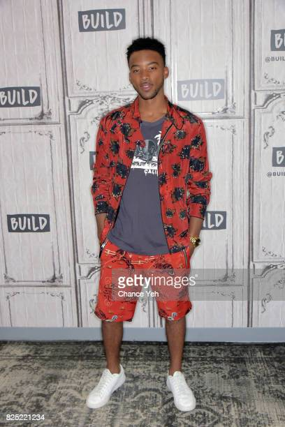 Algee Smith attends Buiild series to discuss the new film 'Detroit' at Build Studio on August 1 2017 in New York City