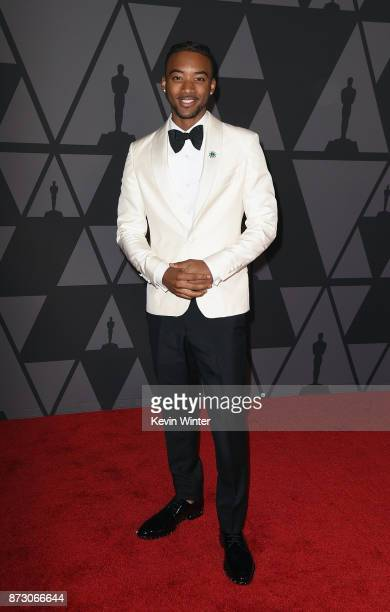 Algee Smith attends the Academy of Motion Picture Arts and Sciences' 9th Annual Governors Awards at The Ray Dolby Ballroom at Hollywood Highland...