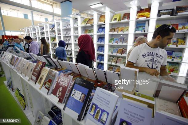21th International Book Fair of Algiers at the exhibition centre 'Palais des expositions Pins Maritimes' on