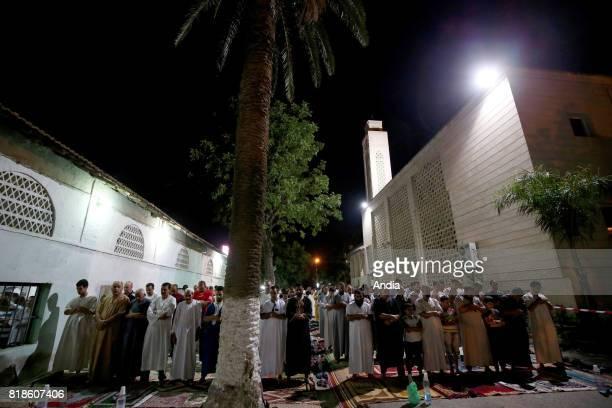 prayer at Mahfoud Kerrar during Ramadan