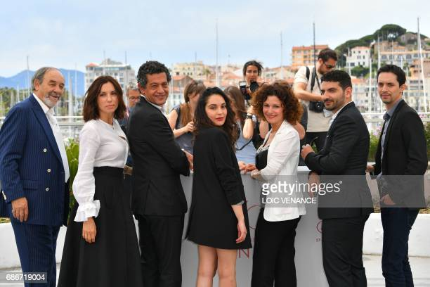 Algerian actor Mohamed Djouhri French actress Aure Atika Algerian actor Hassan Kachach Algerian actress Hania Amar Algerian actress Nadia Kaci...