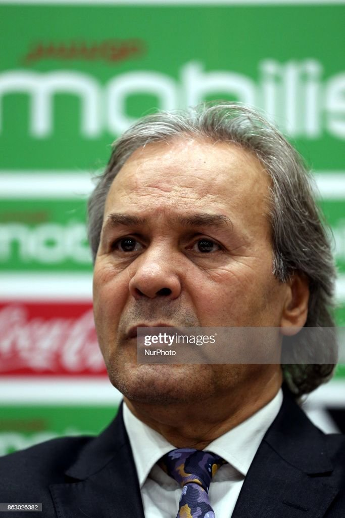 Rabah Madjer, new national coach of Algeria Soccer