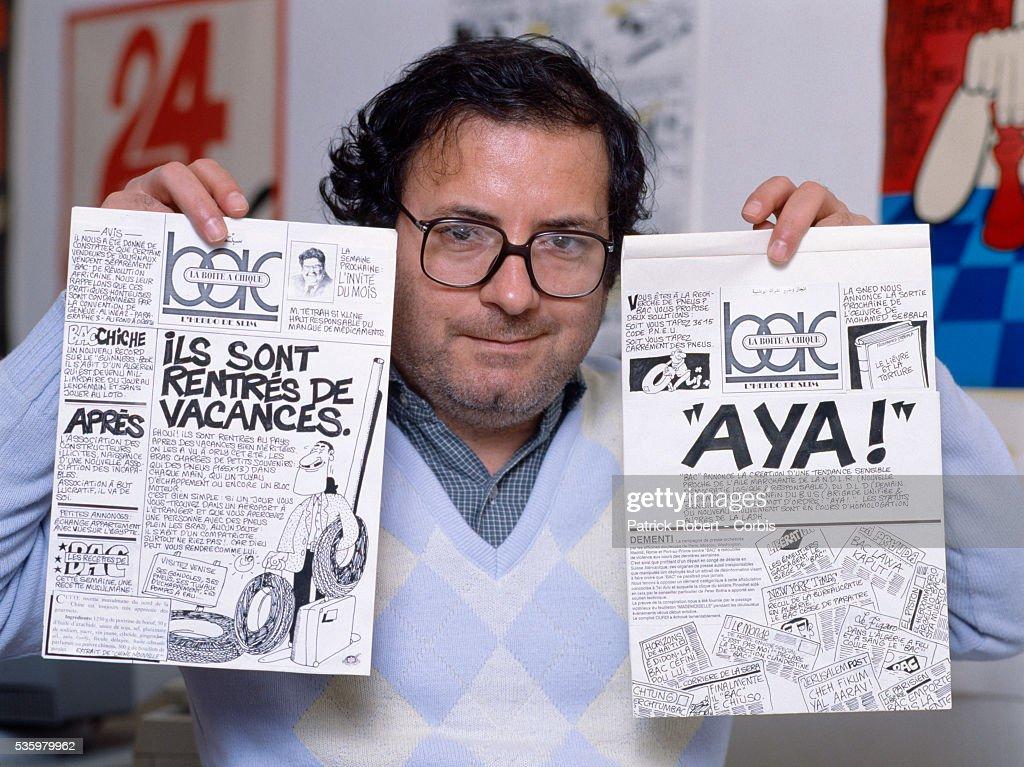 Algerian Political Cartoonist Slim