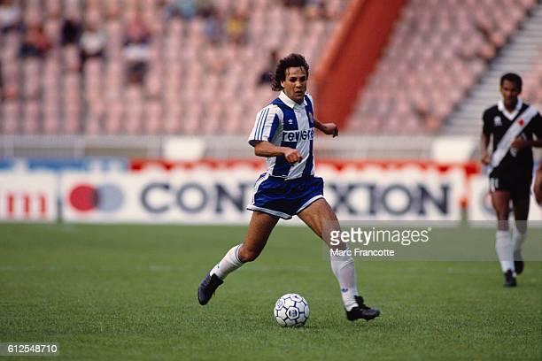 Algerian soccer player Rabah Madjer