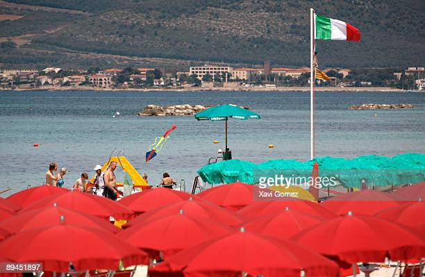 Alghero Sardinia Beach of San Giovanni Located on the northwest coast of Sardinia Alghero has become a major holiday destination in recent years and...