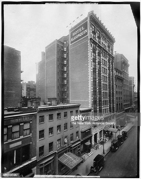 Algonquin Hotel on W 44th Street New York New York 1895