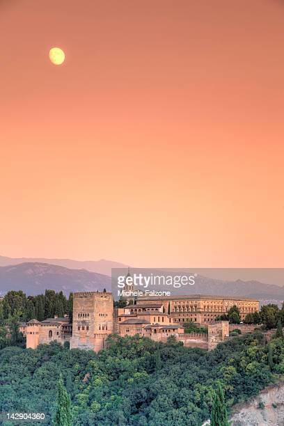 Alhambra Palace complex, Granada