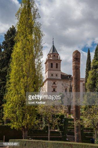 Alhambra Palace : Stock Photo
