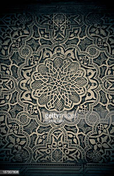 alhambra wall filigree