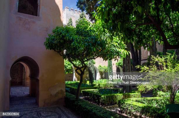 Alhambra, yard