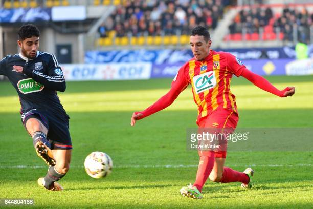 Alharbi EL JADEYAOUI / Jordan FERRI Lens / Lyon Coupe de France Photo Dave Winter / Icon Sport