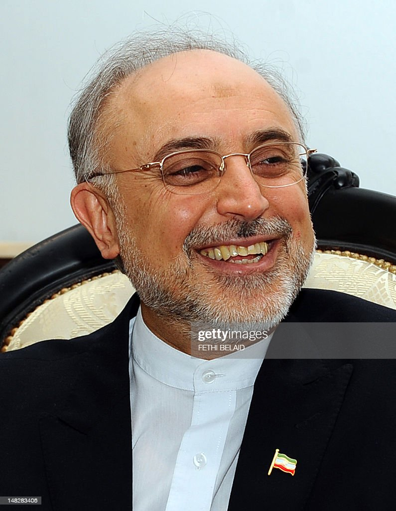 <a gi-track='captionPersonalityLinkClicked' href=/galleries/search?phrase=Ali+Akbar+Salehi&family=editorial&specificpeople=3125551 ng-click='$event.stopPropagation()'>Ali Akbar Salehi</a>, Minister for Foreign Affairs of the Islamic Republic of Iran smiles on April 23, 2012 in Tunis. Salehi is on a two day official visit to Tunisia.